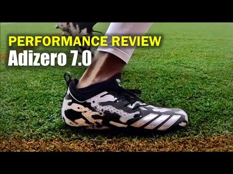 ADIDAS Adizero 7.0 Tagged Camo Cleats: Performance Review