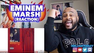 THIS HAD SOME HIDDEN BARS!!   MARSH - EMINEM   REACTION