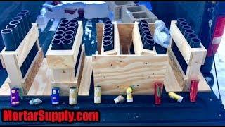 Testing Mortar Racks Fuse & Shells