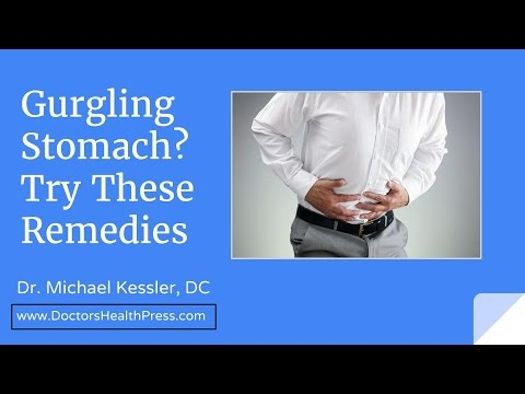 Gurgling Stomach? Try These Remedies - Doctors Health Press - YouTube