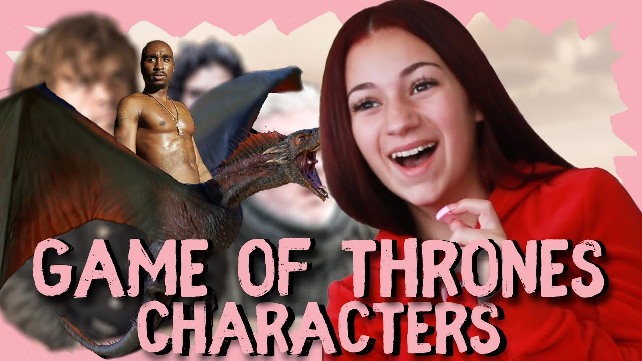 Danielle Bregoli reacts to Game Of Thrones characters part 1 - Danielle Bregoli reacts to Game Of Thrones characters