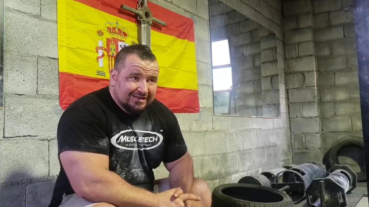 Buscando al Vadym cavalera Español!! Como se puede entrenar si duermes 4 horas. Gladiators Barst