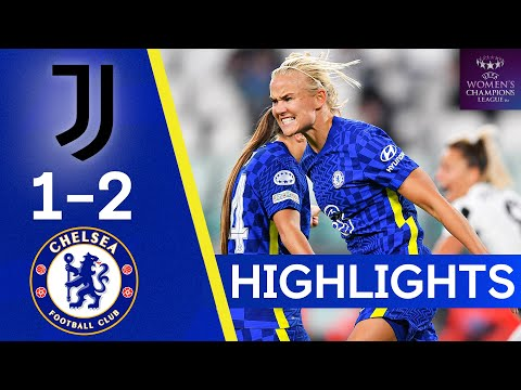 Juventus 1-2 Chelsea | Harder Strike Seals Season's First Group Stage Win | Champions League