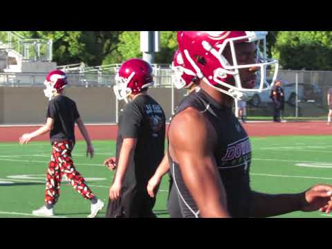 2017 Downey High School Football Thanksgiving Practice