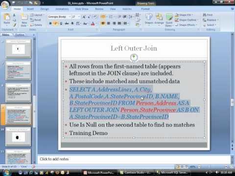 sql server 2008 t-sql tutorial pdf