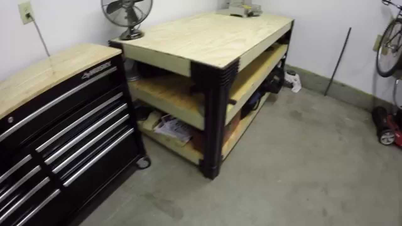 2 X 4 Basics Workbench Assembly Timelapse And Review Youtube