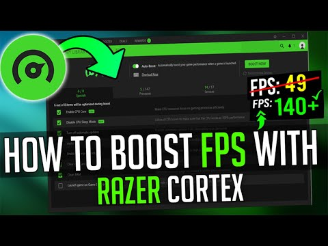 🔧How To Boost FPS In Any Games With Razer Cortex ✅ Improve Windows 10 Performance