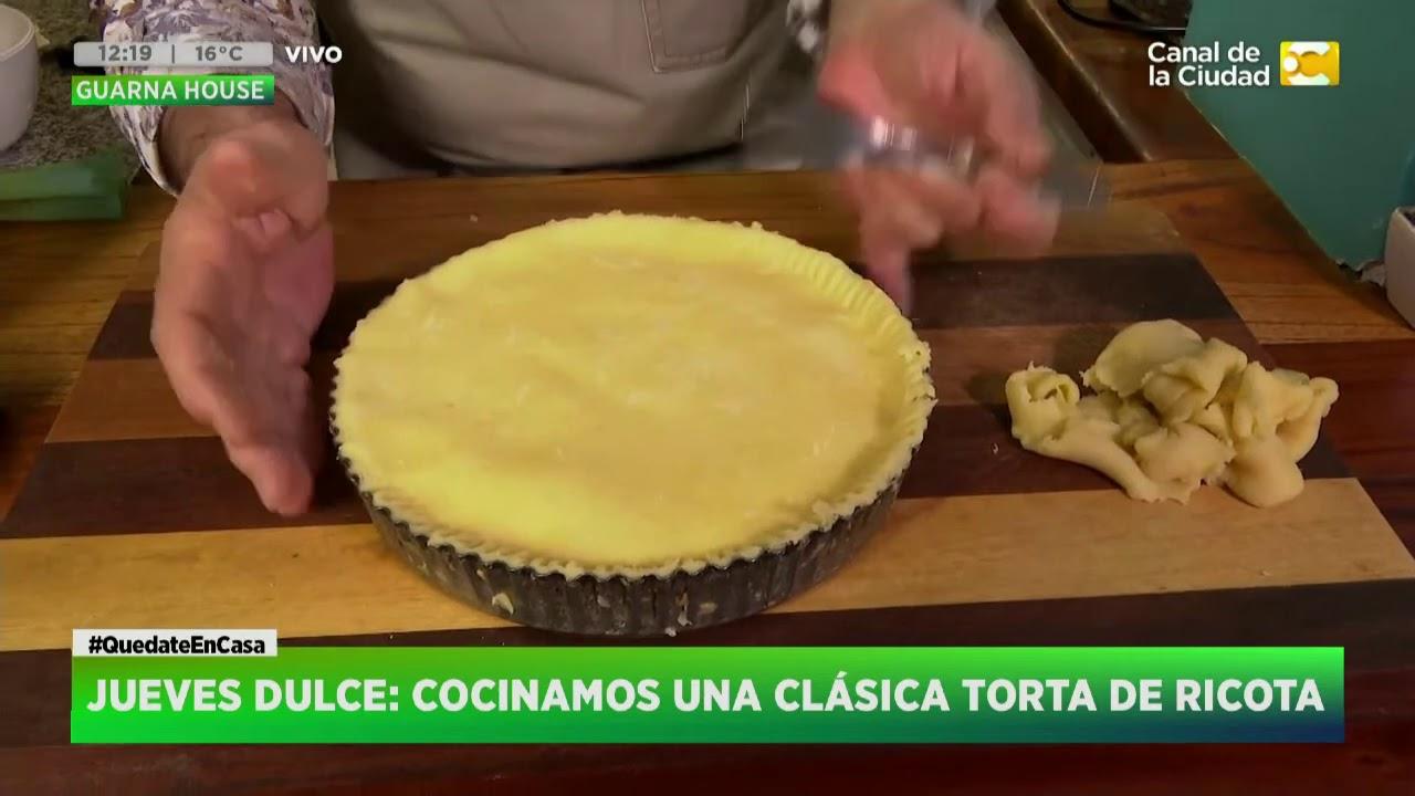 ¿Cómo hacer una Torta de Ricota? Las Recetas de Claudio Guarnaccia (2) en Hoy Nos Toca a las Diez