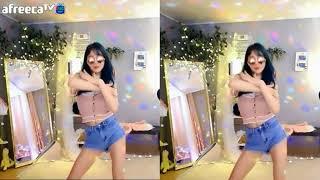 아프리카tv BJ츄님 평범한 복장에 선글라스! 중국음악에 맞춰~신나는 섹시+코믹 댄스! 『蕭全 - 社會搖』