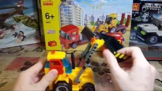 Лего от КАМАЗ!!КАМАЗ и трактор.
