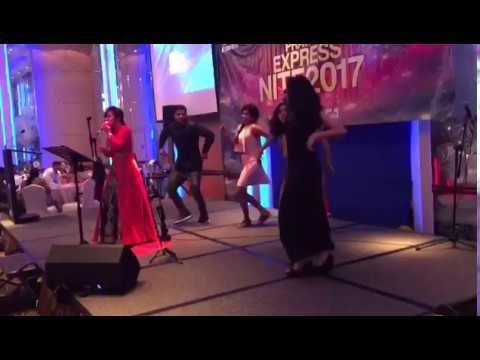 Kavya Ajit Singing | Pravasi Xpress Nite 2017 | Singapore Live