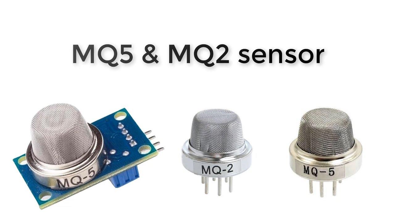 الكترونيات - شرح مفصل عن حساس الغاز MQ5 & MQ2 gas sensor