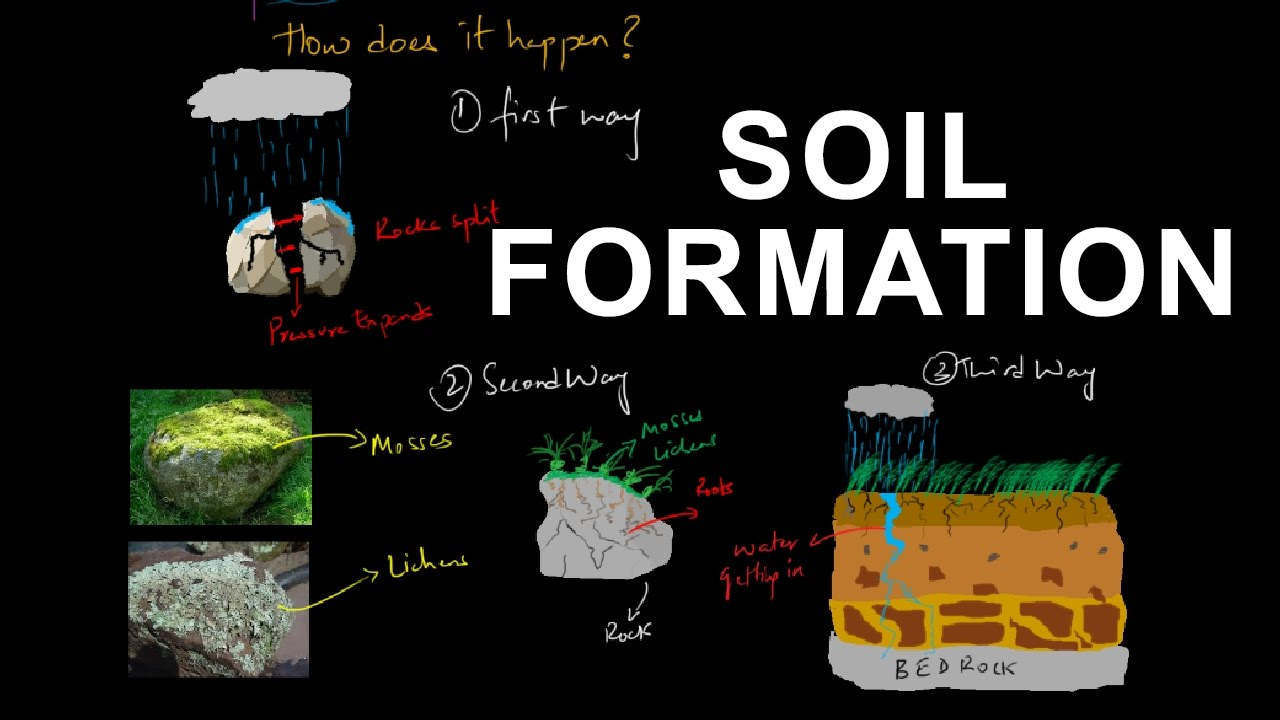 Process of soil formation pedogenesis pedology youtube for Soil formation