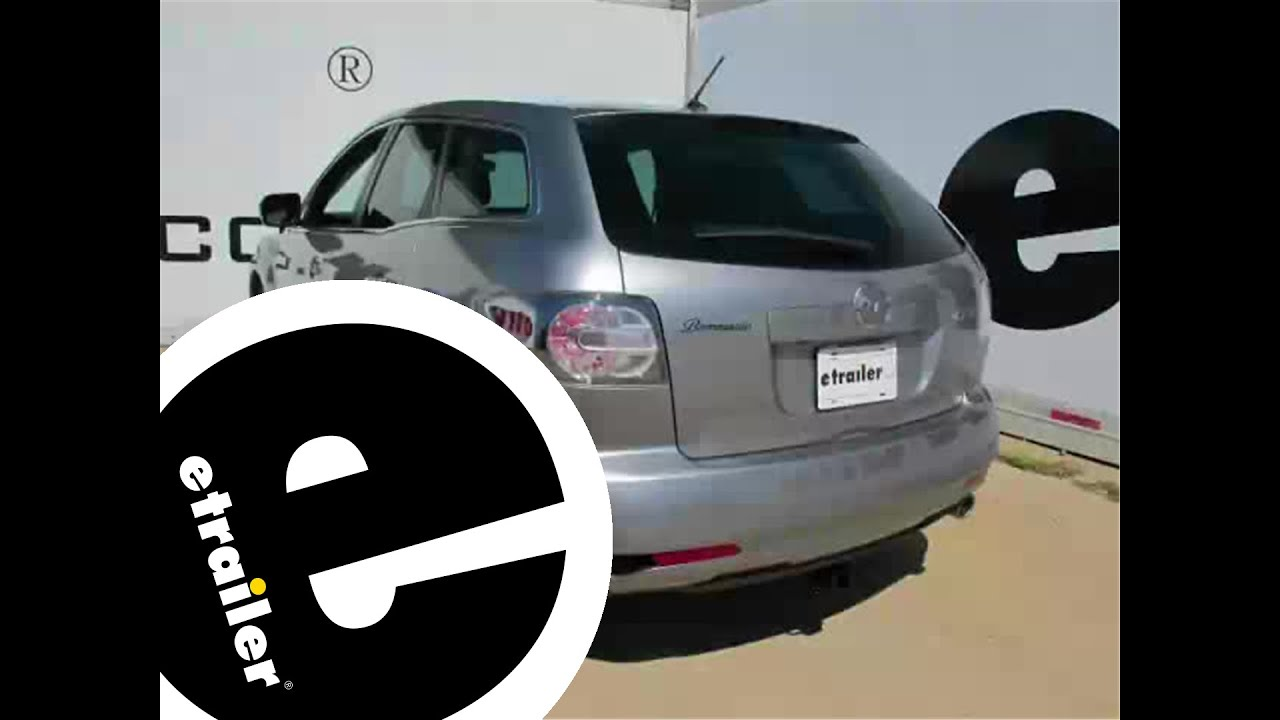 Installation of a Trailer Hitch on a 2011 Mazda CX-7 - etrailer.com
