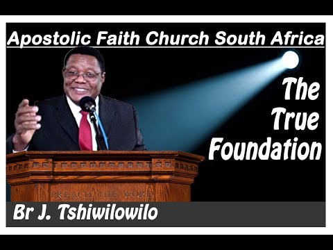 Apostolic Faith Church South Africa. 2017 SA Camp. Br Tshiwilowilo.