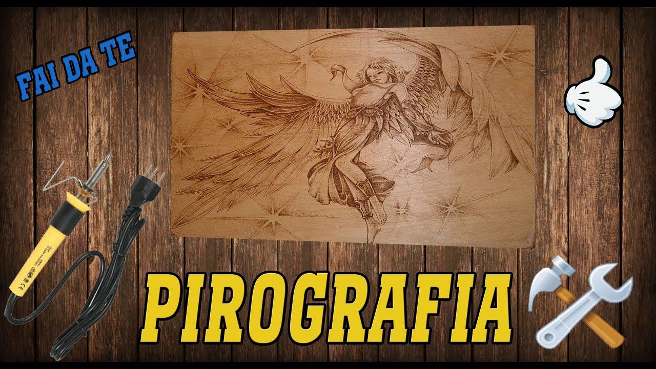 Come Disegnare Sul Legno Pirografia Youtube