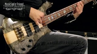 spector usa ns 4 exotic buckeye burl limited edition 4 string bass