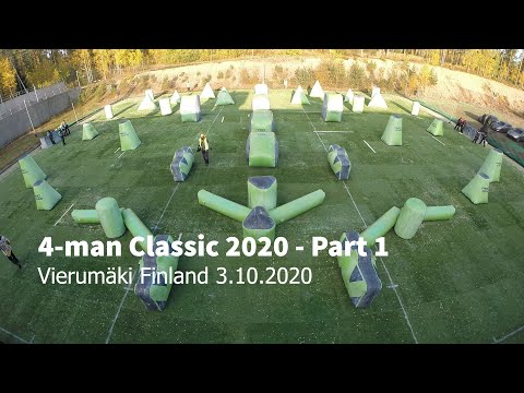 4-man Classic 2020 Games - Part 1