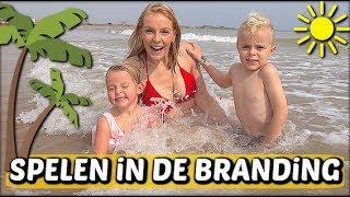 ZWEMMEN iN DE ZEE 👙 | Bellinga Familie Vloggers #1168
