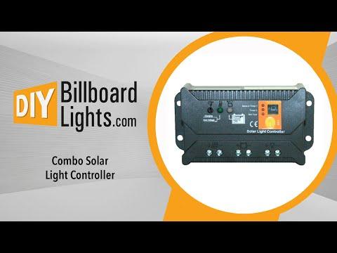 DIYBillBoardLights Combo Solar Light Controller
