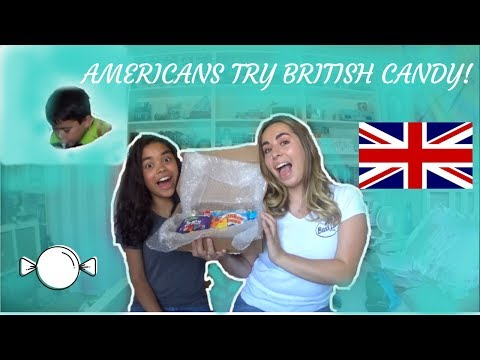 AMERICANS TRY BRITISH CANDY!!