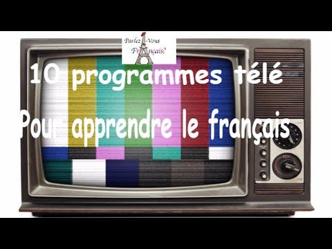 10 programmes télé pour apprendre le français