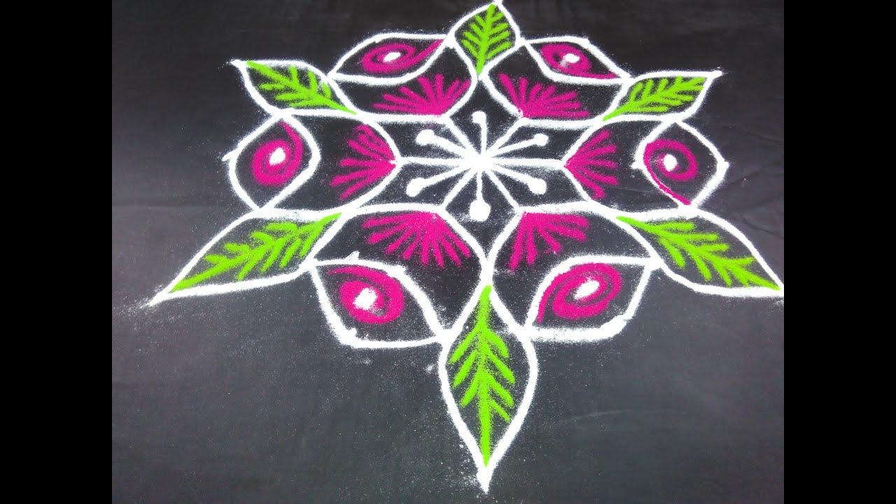 100 how to make rangoli art how to make rangoli for Home made rangoli designs