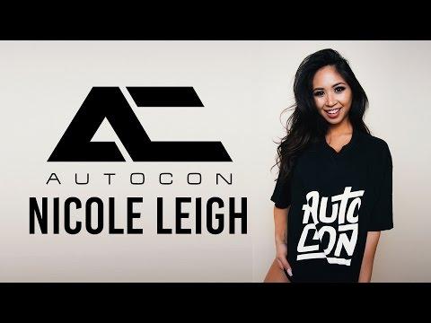 Autocon Model  Nicole Leigh