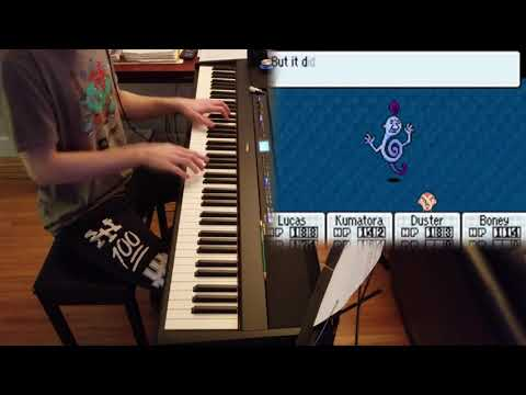 MOTHER 3 - Cumbersome Guys - Piano