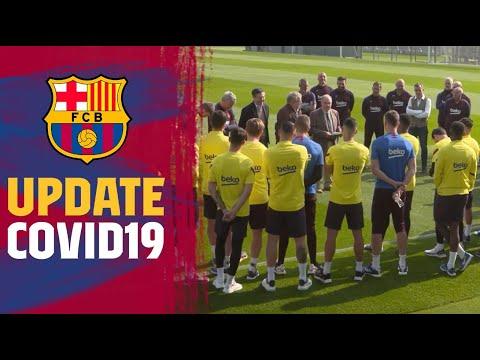 Barça's first team activity suspended due to Coronavirus