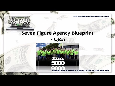 Seven Figure Agency Blueprint - Q&A Call Replay