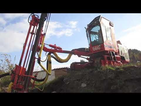Test Drilling Sandvik/Tamrock 660