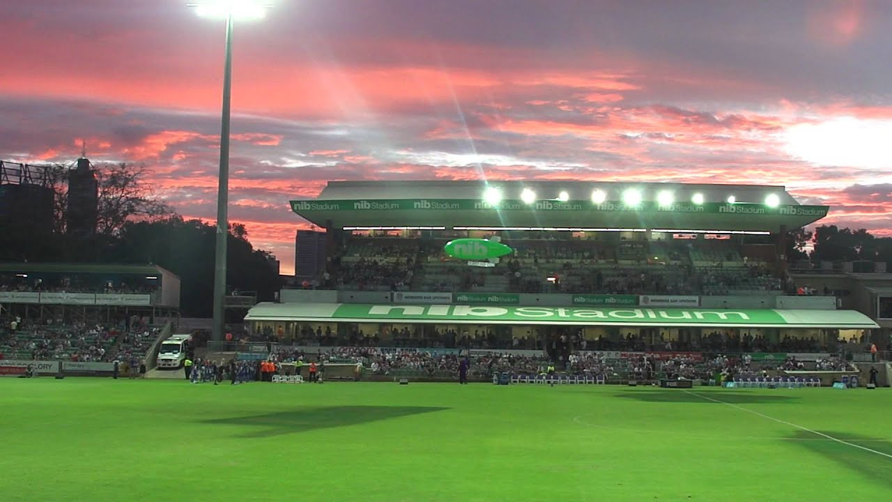 Perth Glory nib Stadium - YouTube