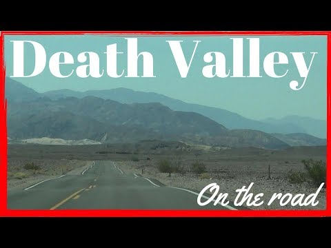 Death Valley: Beatty Junction to Furnace Creek CA 190 | On the road