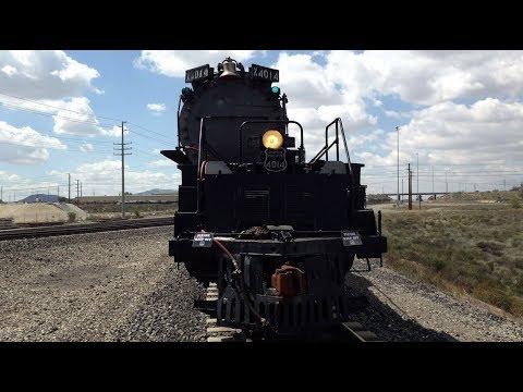 Steam Update: Locomotive No. 4014 Front Engine Walk Along