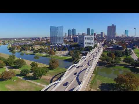 Fort Worth Skyline Video