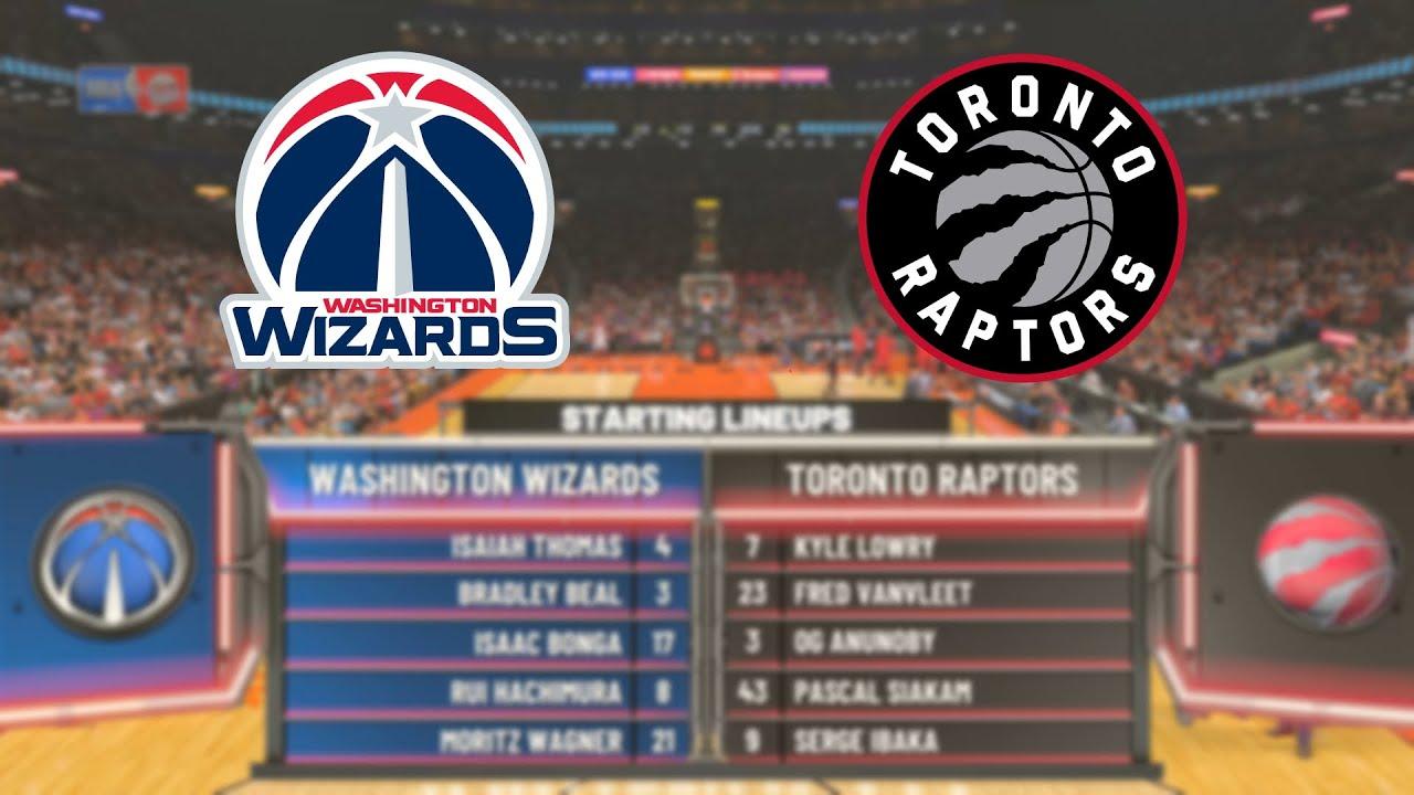 NBA 2K20 (PC) | Wizards vs Raptors | NBA 2K14 Graphics Mod ...