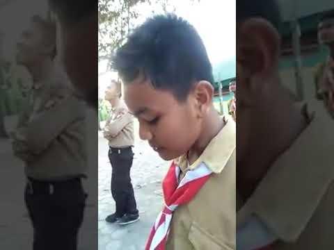Viral - Anak Pramuka nyanyi