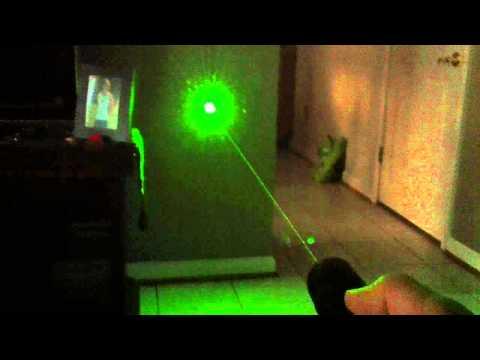 världens starkaste laserpekare