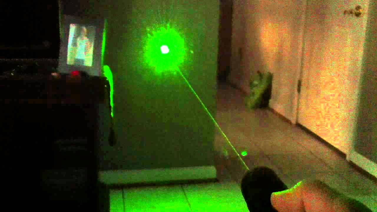 1000mw Green Laser Pointer Youtube