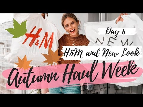 Baixar AUTUMN HAUL WEEK || H&M + NEW LOOK || Day 6 || COCOA CHELSEA