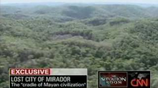 World's Largest Pyramid Discovered, Lost Mayan City Of Mirador Guatemala CNN