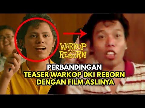 PERBANDINGAN Official Teaser WARKOP DKI REBORN 3 & 4 Dengan Versi Film Aslinya ! | Coming Soon 2019