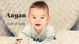 Top 20 Latest Baby Boy Names from 'A' 2019