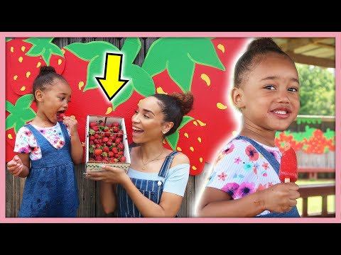 Fun Trip to the BERRY FARM with my Toddler! | MOM VLOG