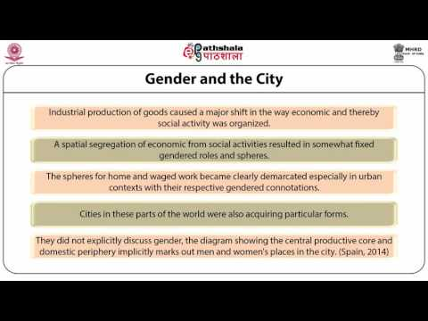 Gender in the Indian Cities  (SOC)