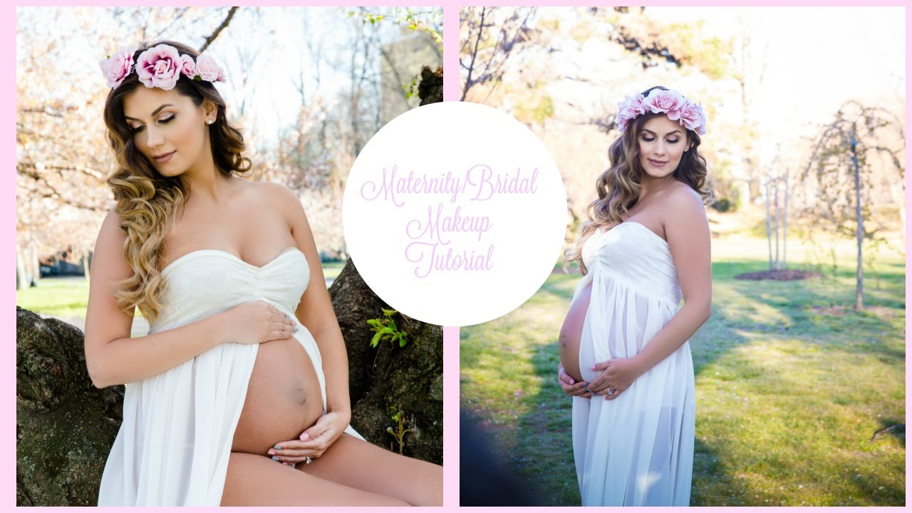 Maternitybridal photo shoot makeup tutorial 2016 youtube baditri Images