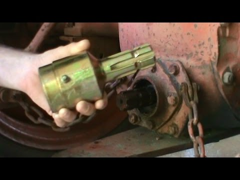 Tractor Pto Over Running Clutch Coupler Youtube