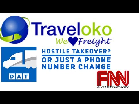 Traveloko : Has Traveloko taken over drivers DAT LOADBOARD accounts ? The Fake News Network REPORTS