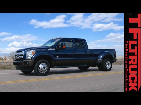 2015 Ford F-350: 0-60 MPH Test - Let the Dually Roll!